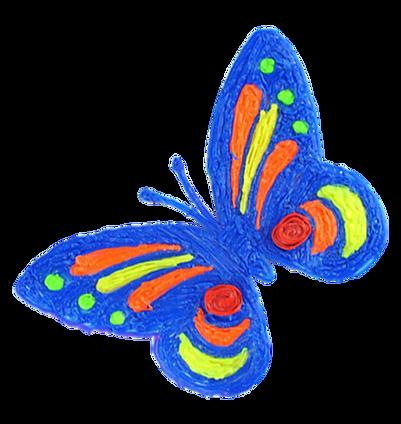 3d pen art butterfly