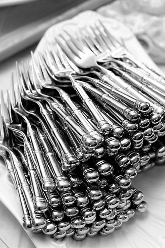 corporate catering forks