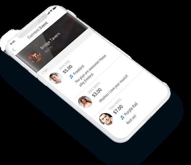 ShowSlinger mobile app