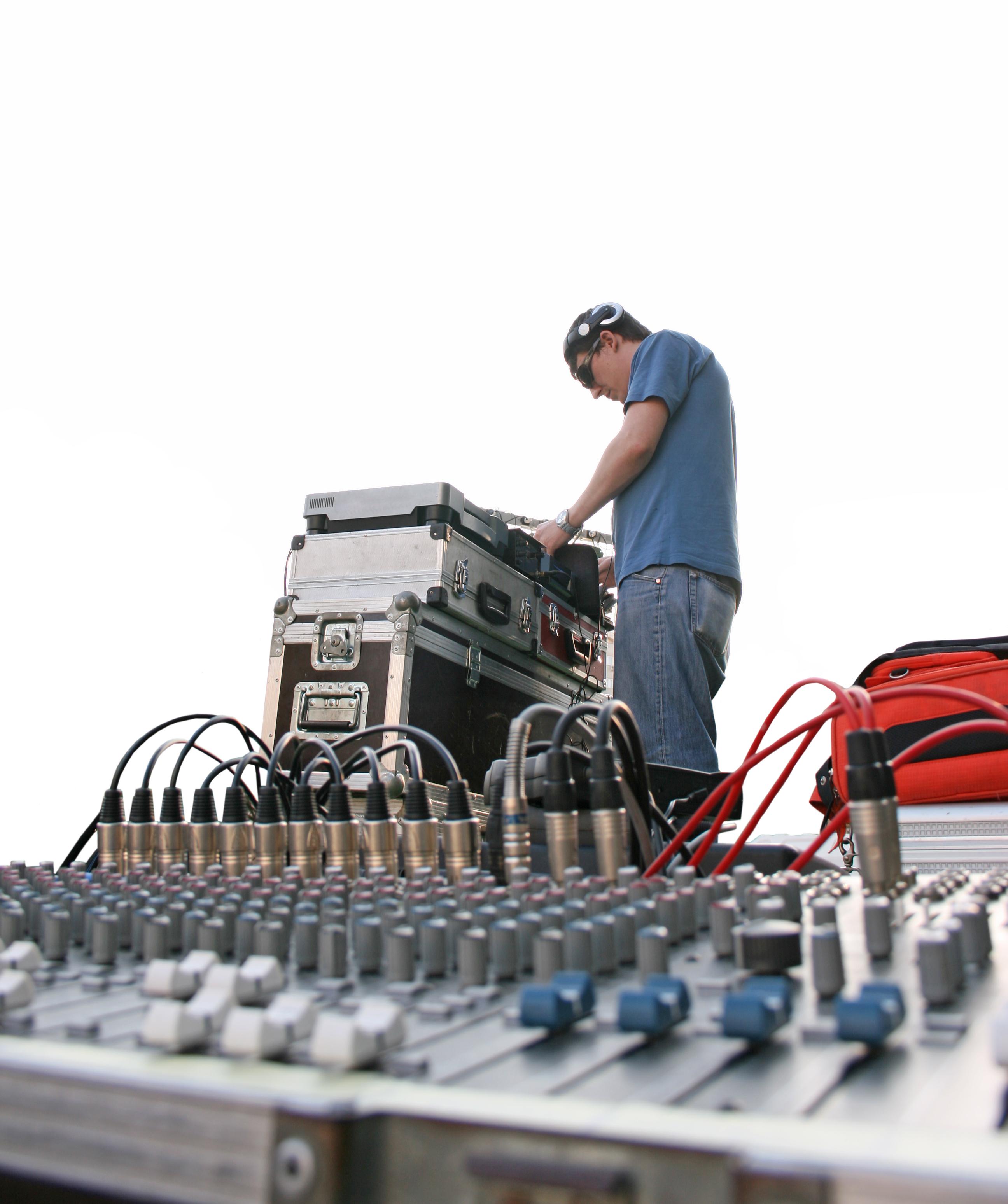 Sound technicians