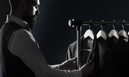 Tailor, tailoring. Men's suit, tailor in