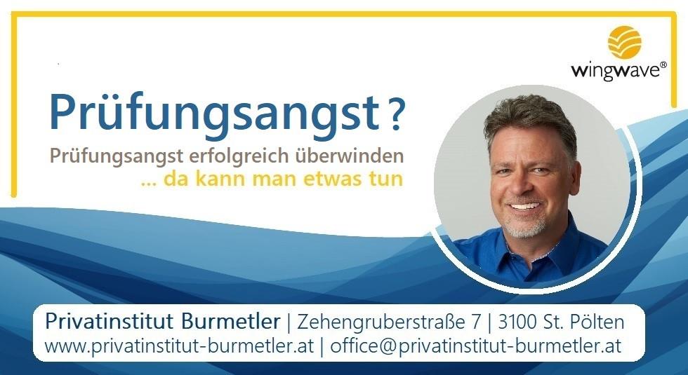 Prüfungsangst überwinden   Privatinstitut Burmetler   St. Pölten