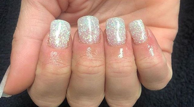 Dip nails extensions at Kerry Couture