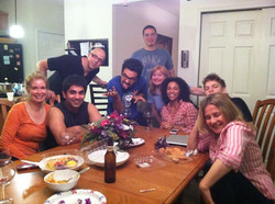 Post a long day of shooting, hot tub, homemade tacos (a la Rob Rob Gokee), wine, beer and lots of la