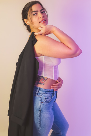 TWO-TONED / MAR 2021 Makeup: Lipstick & Magic Tricks Photo: Flint & Flower Photography Model: @ashkrivera
