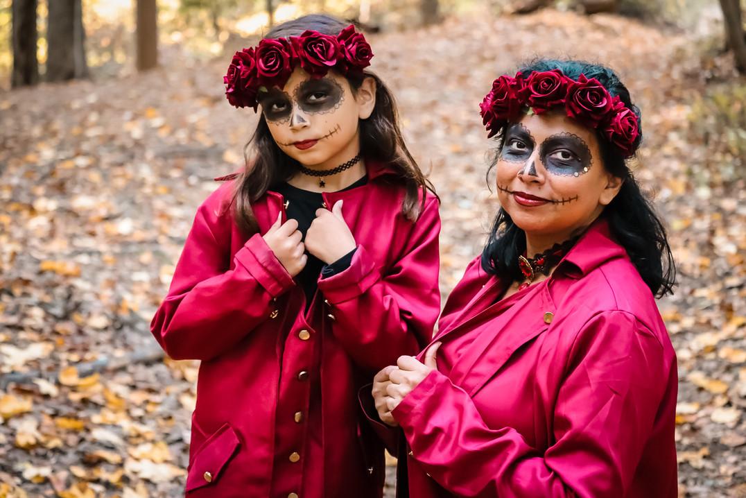 INTO THE WOODS / OCT 2020 Makeup: Lipstick & Magic Tricks Photo: Flint & Flower Photography Model: @volzanita