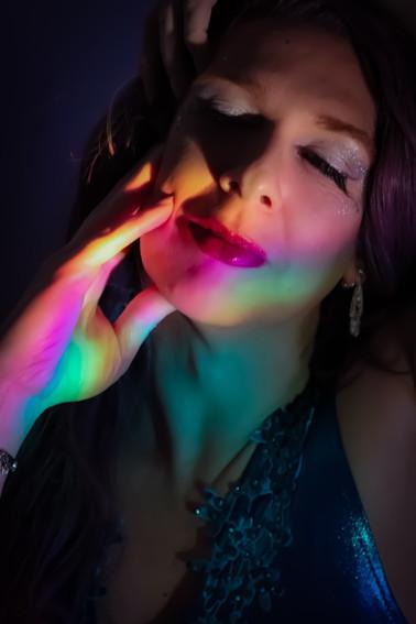 PRISMS / JAN 2021 Makeup: Lipstick & Magic Tricks Photo: Flint & Flower Photography Model: @tiff4ny_