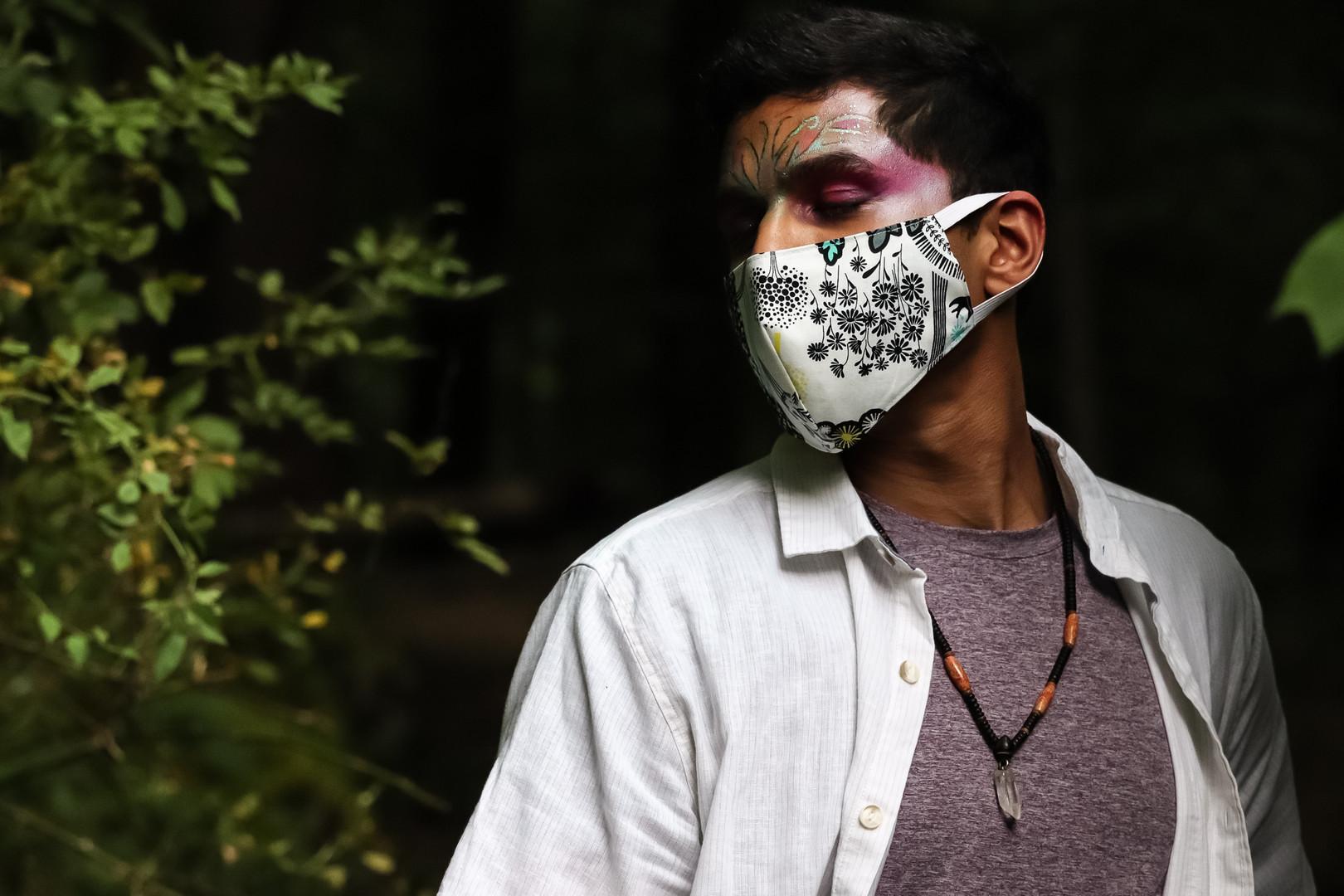 Colors of Quarantine / AUG 2020 Makeup: Lipstick & Magic Tricks Photo: Flint & Flower Photography Model: @aerotheurge