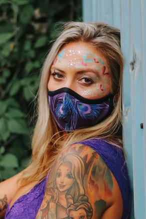 Colors of Quarantine / AUG 2020 Makeup: Lipstick & Magic Tricks Photo: Flint & Flower Photography Model: @hannah_banana25