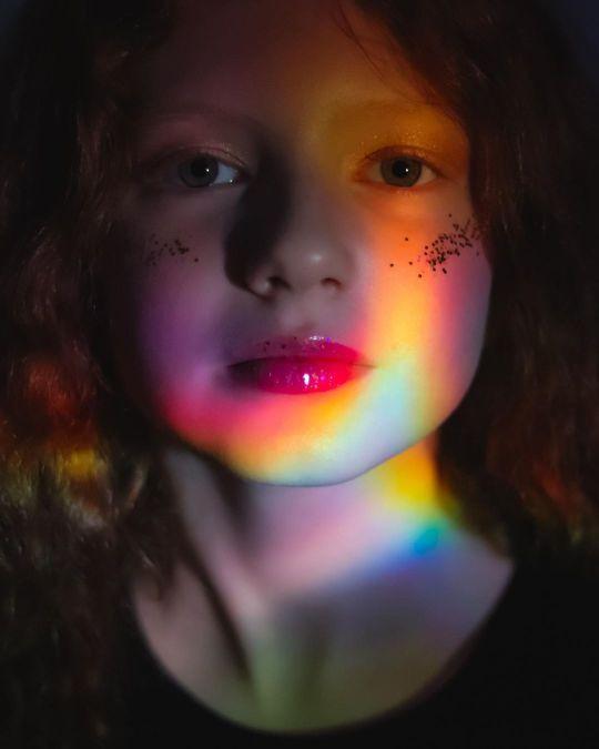 PRISMS / JAN 2021 Makeup: Lipstick & Magic Tricks Photo: Flint & Flower Photography