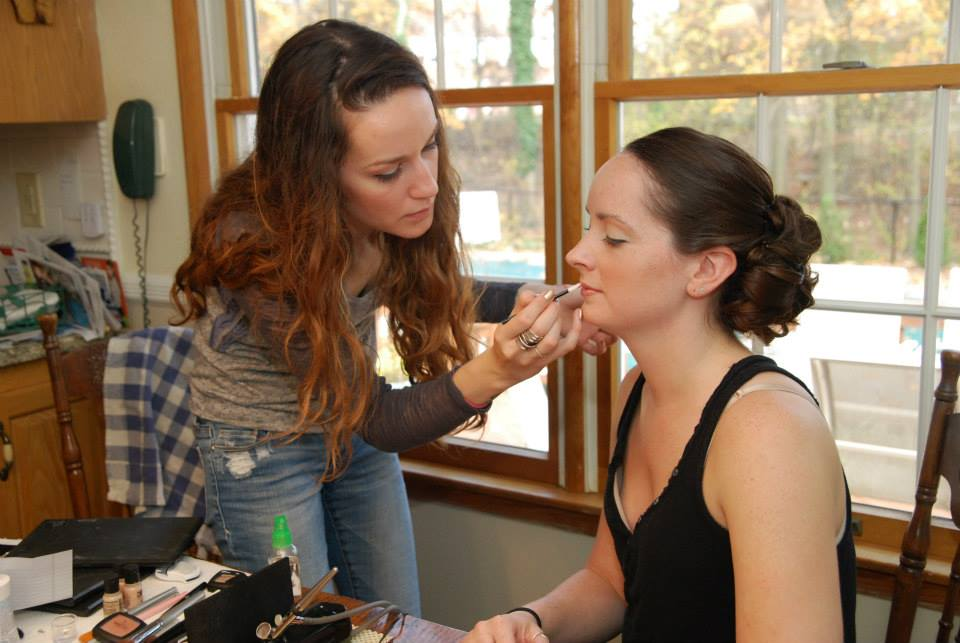 Wedding Makeup on Location