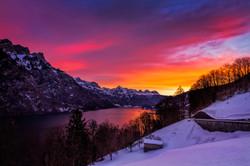 Walensee-雪季1