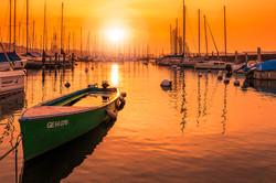 湖畔夕阳.jpg