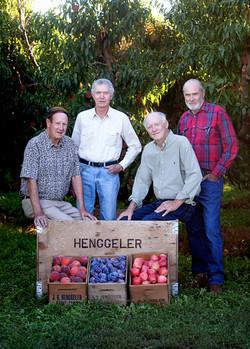 Jerry, Rudy, Bob, and Tony Henggeler