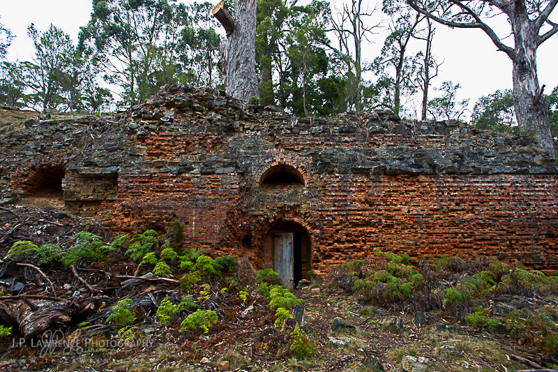 Ruins from the old penal colony on Maria Island National Park