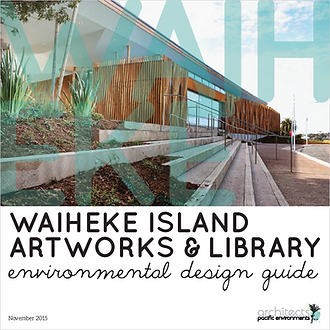 Waiheke Library Artworks and Library Env