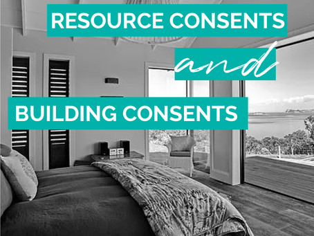 RESOURCE CONSENTS AND BUILDING CONSENTS