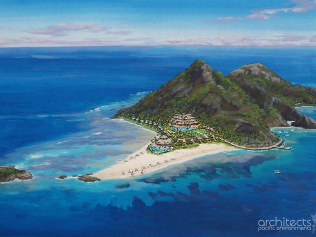 Modriki Island, Fiji