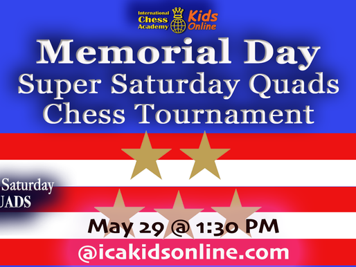 May 29, 2020 - Memorial Day Weekend  Quads