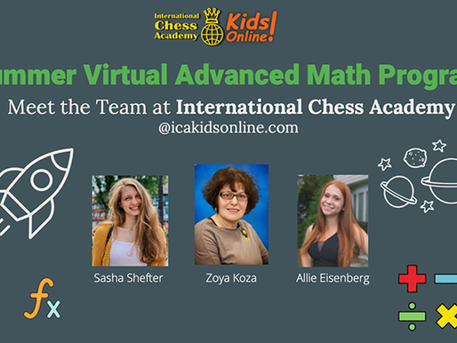 Summer Advanced Math Program Prepares Kids for Abstract Mathematical Thinking