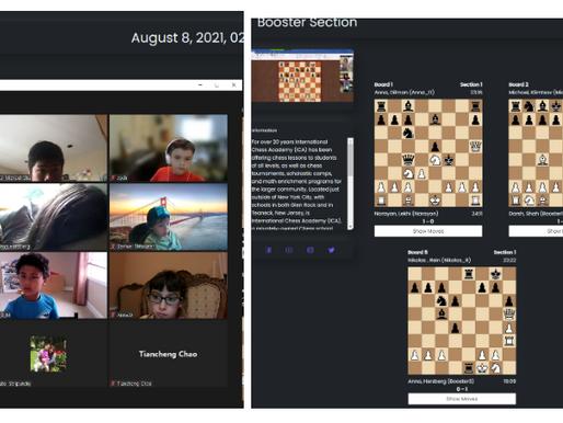 "Progressive ""Qualification"" Tournaments, Sunday, August 8, 2021"