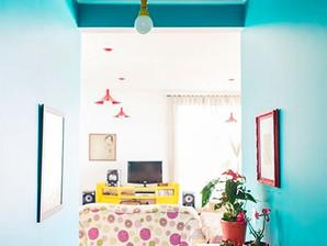 Olhe para acima: ideias de papéis de parede para o seu teto!