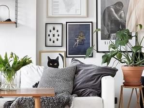 Como criar uma galeria de quadros, em casa!