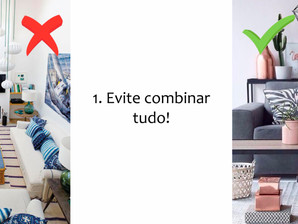 Top 10 erros ao decorar!