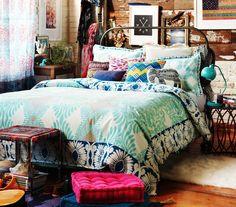 Mais cor, na cama, por favor!