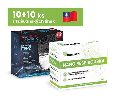 10 ks Nano RR + 10 ks FFP2