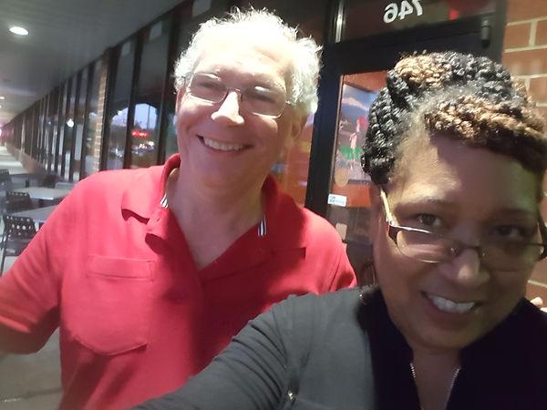 selfie of Kevin O'Brien and TJ Morris