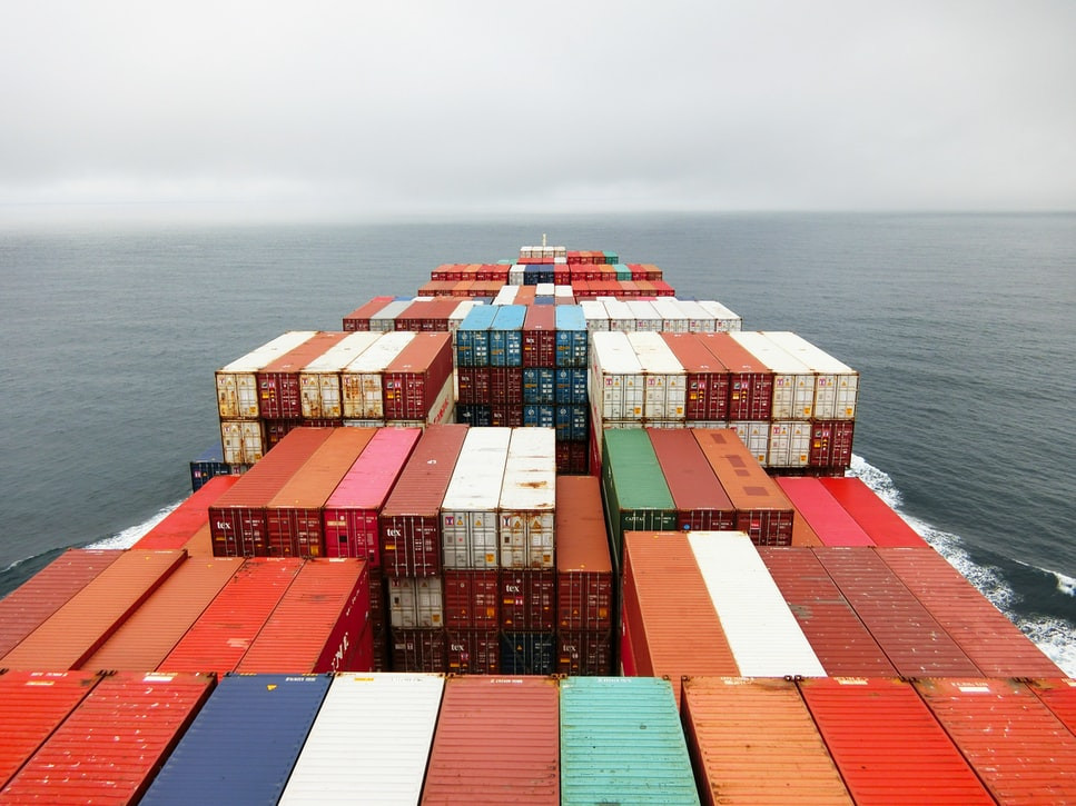 each 20ft container you ship from China to any European port adds almost 3 tonnes of CO2 to your carbon footprint