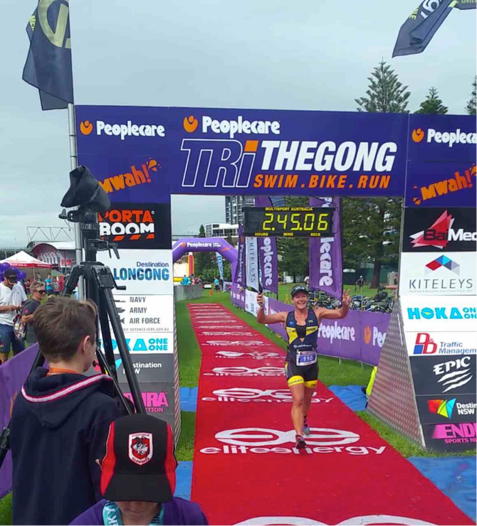 Wollongong Olympic Tri Race Report