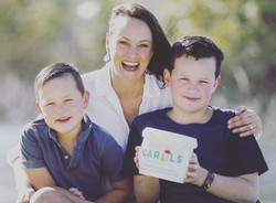 liv and sons raising money for Lakeside Carols.jpg
