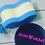Thumbnail: Swimming Cap - Black and Pink