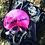 Thumbnail: Swimming Cap - Pink and black logo