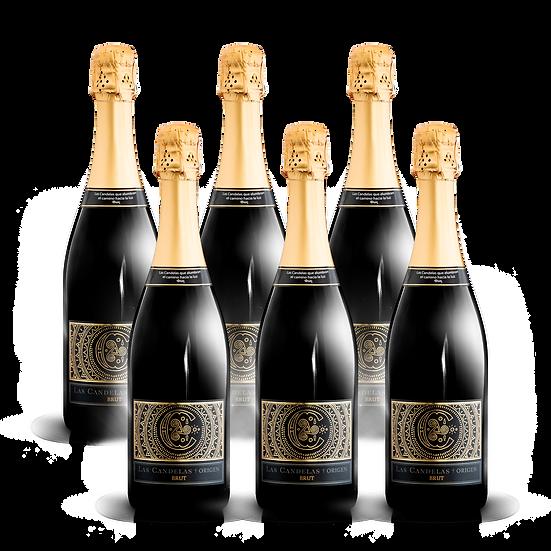 Las Candelas  ·  Origen Brut, 6 botellas