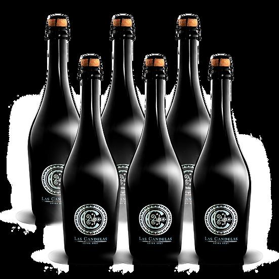 Las Candelas  ·  Extra Brut, 6 botellas