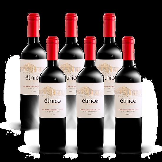 Étnico Reserva · Cabernet Sauvignon, 6 botellas