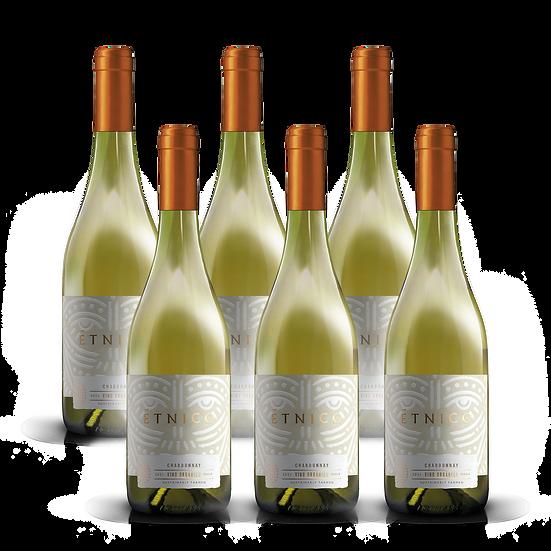Étnico Reserva · Chardonnay, 6 botellas