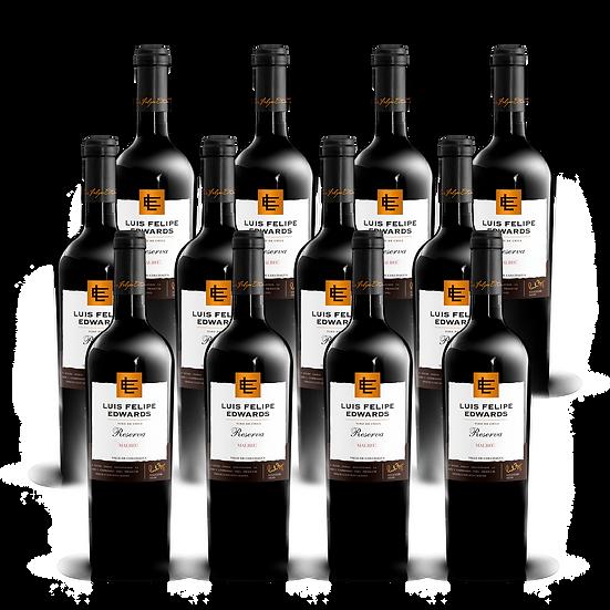 LFE Reserva · Malbec, 12 botellas