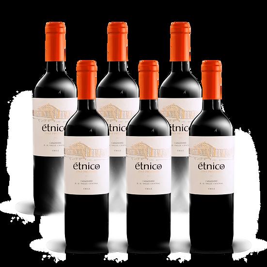 Étnico Reserva · Carmenere, 6 botellas
