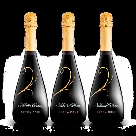 Navarro Correas  ·  Extra Brut, 3 botellas