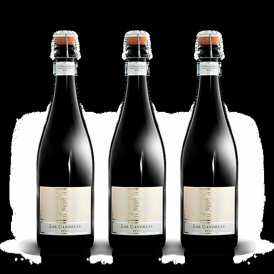 Las Candelas  ·  Brut, 3 botellas