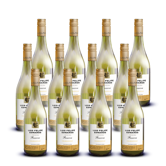 LFE Reserva · Chardonnay, 12 botellas
