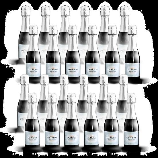 Las Moras  ·  Brut, 187cc, 24 botellas