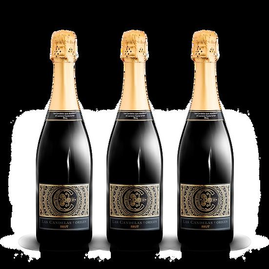 Las Candelas  ·  Origen Brut, 3 botellas