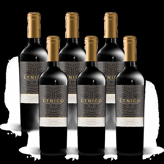Étnico Gran Reserva · Carmenere, 6 botellas