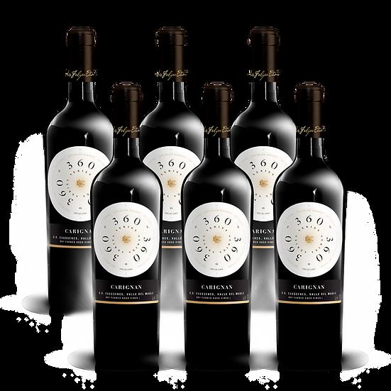 360º Series · Carignan, 6 botellas