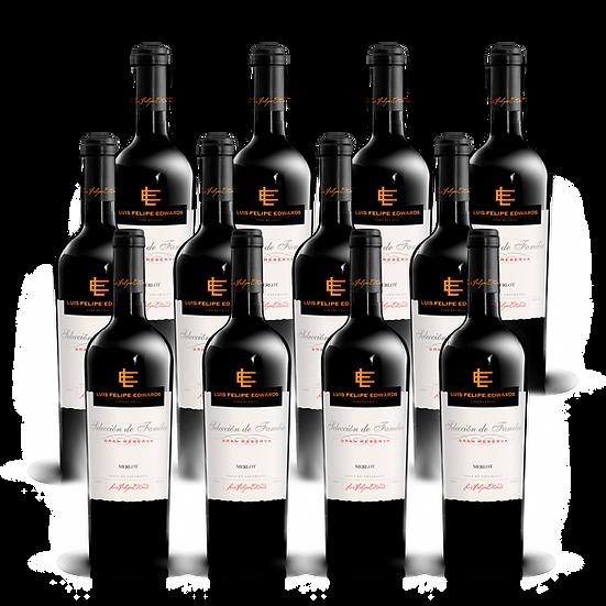 LFE Gran Reserva · Merlot, 12 botellas